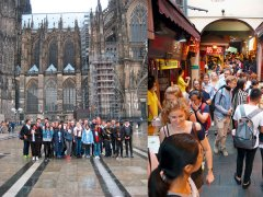 Deutsch-Chinesischer Jugendaustausch, Qingdao, Attendorn, Köln